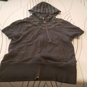 Short sleeved Old Navy hoodie